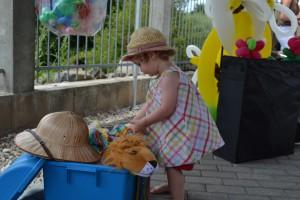 Bunte Zusammenstellung von Kinder-Kostümen