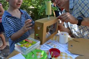 Spielomatenbauer am Werk