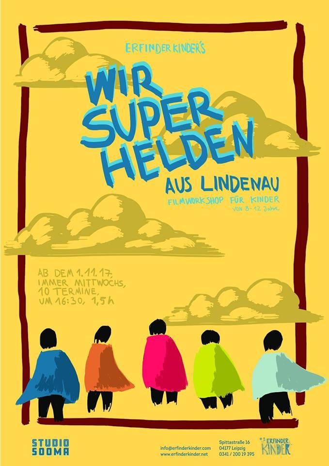 """Filmwerkstatt """"Wir Superhelden von Lindenau"""" gestartet"""